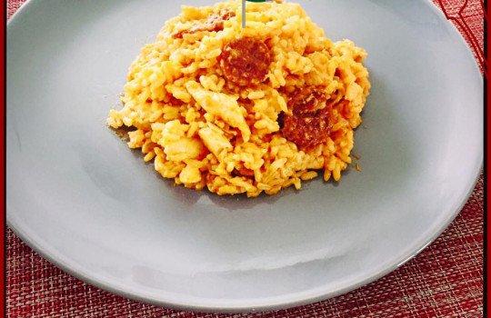 Mon Risotto Chorizo – Poulet